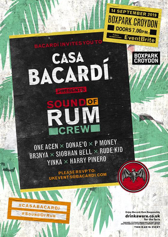 Casa Bacardi presents Sounds of Rum Crew